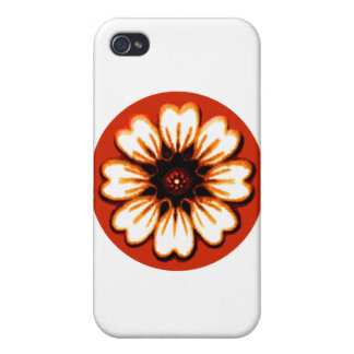 Daisy Orange The MUSEUM Zazzle Gifts iPhone 4 Cases