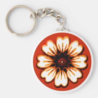 Daisy Orange The MUSEUM Zazzle Gifts Keychains