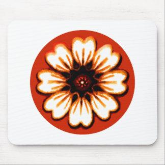 Daisy Orange The MUSEUM Zazzle Gifts Mousepads