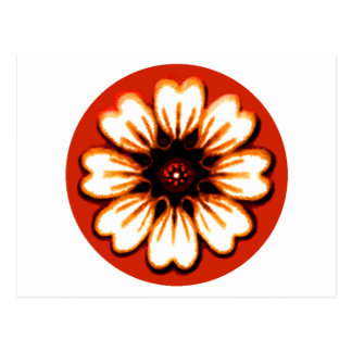 Daisy Orange The MUSEUM Zazzle Gifts Post Cards