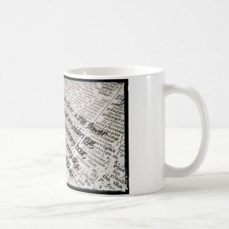 Daisy Themed Coffee Mug