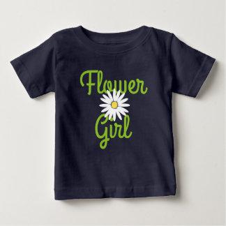 Daisy Wedding Flower Girl Baby T-Shirt