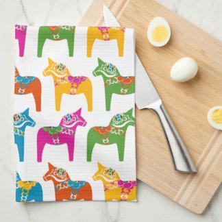 Dala Horse American Mojo Kitchen Towel