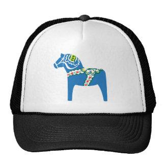 Dalahäst | Dala horse blue Cap