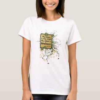 Dalai Lama Religion Quote T-Shirt