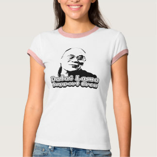 Dalai Lama Support Crew - Customized T-Shirt