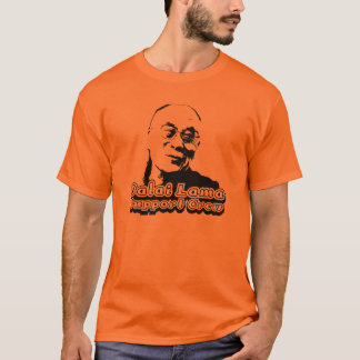 Dalai Lama Support Crew T-Shirt