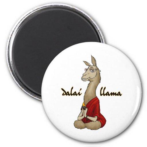 Dalai Llama Refrigerator Magnet