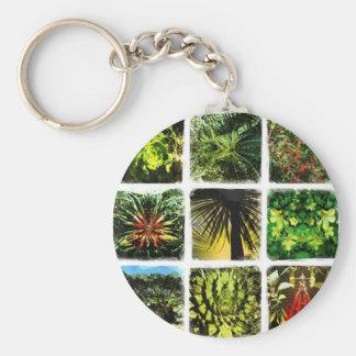 Dali Plants Key Ring