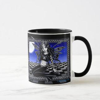 """""""Dali"""" Surreal Moonlite Faerie Mug"""