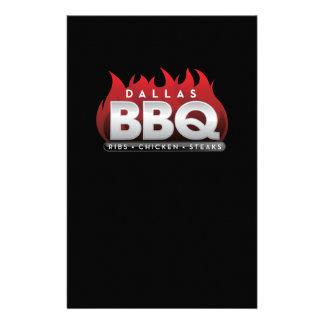 Dallas BBQ Paper