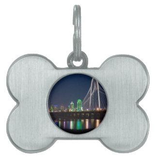 Dallas Bridge View Pet ID Tag