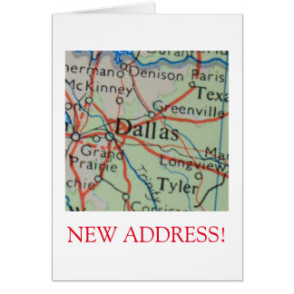 Dallas New Address announcement