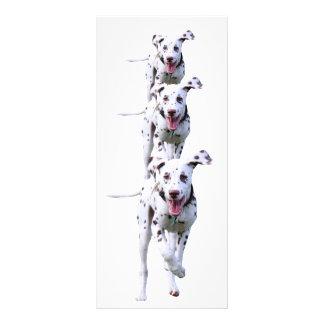 Dalmatian puppy dog bookmark, gift idea 10 cm x 23 cm rack card