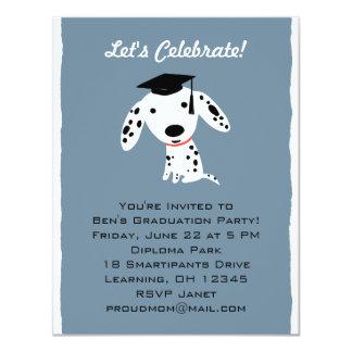 Dalmatian Puppy Graduation Announcement