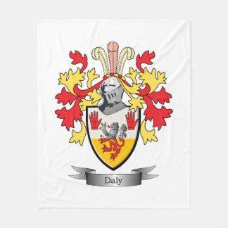 Daly Coat of Arms Fleece Blanket