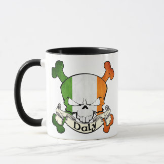 Daly Irish Skull Mug