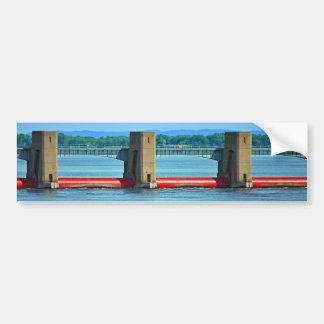 dam across upper mississippi bumper sticker