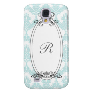 Damask Crown <Mint> Galaxy S4 Case