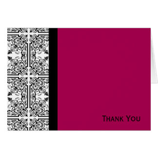 Damask Delight in Cherrystone Red Card