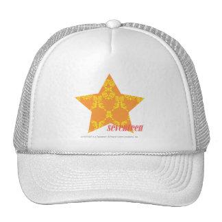Damask Orange-Yellow 3 Hat