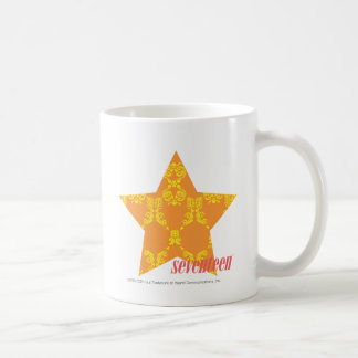 Damask Orange-Yellow 3 Mug