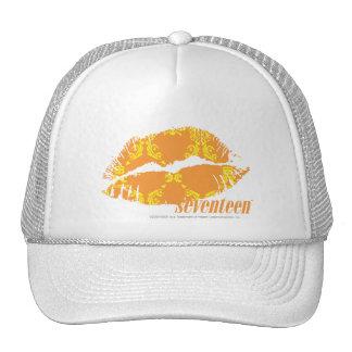 Damask Orange-Yellow Trucker Hat