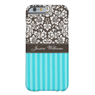Damask & Stripes Barely There iPhone 6 Case