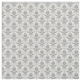 Damask wallpaper fabric