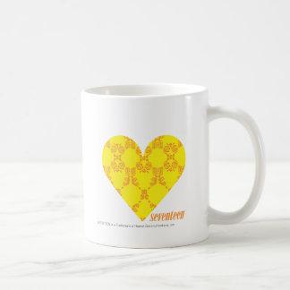 Damask Yellow-Orange 4 Coffee Mug