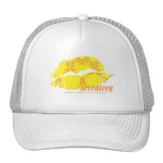 Damask Yellow-Orange Hats