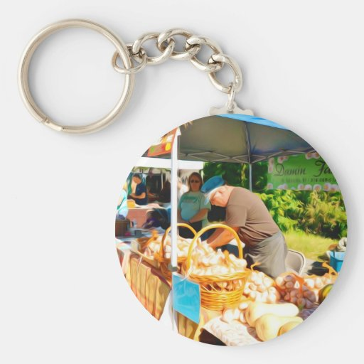Damin Farm Key Chains