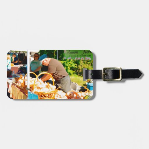 Damin Farm Travel Bag Tags