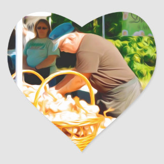Damin Farm Heart Sticker