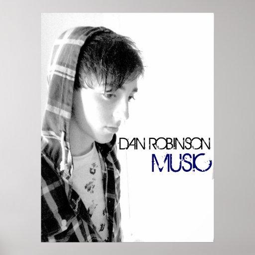 Dan Robinson Music Poster 2011