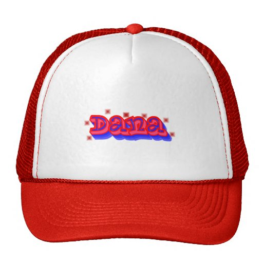 Dana Graffiti Trucker Hat, Cap