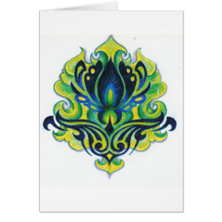 Dana's Green Art Deco design is all over! Card