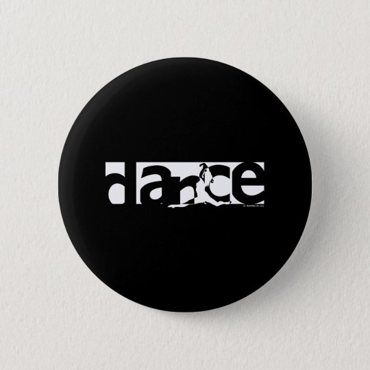 Dance 6 Cm Round Badge