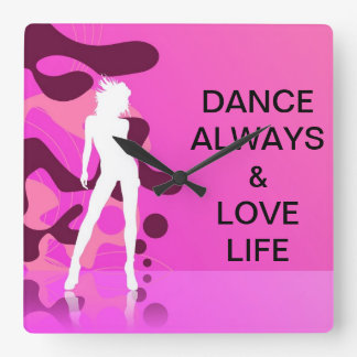 Dance Always Clock
