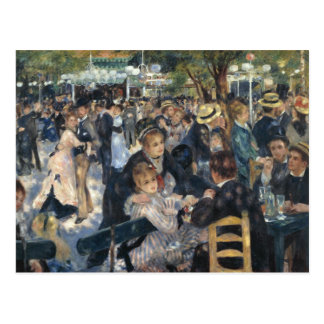 Dance at Moulin de la Galette by Renoir Postcard