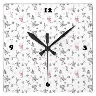 Dance Class Clock