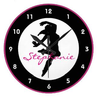 Dance Design Wall Clock