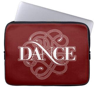 Dance Flourish Laptop Sleeve