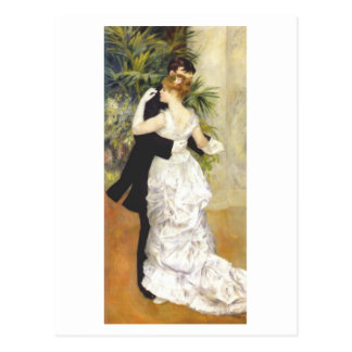 Dance in the City by Renoir Postcard
