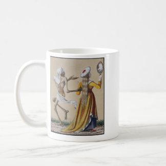 Dance of Death in Basel   The Noblewoman Coffee Mug