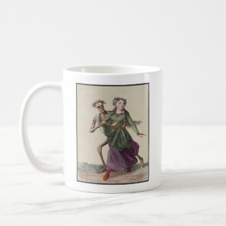 Dance of Death in Basel | The Young Woman Coffee Mug