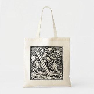 Dance of Death letter V Bag