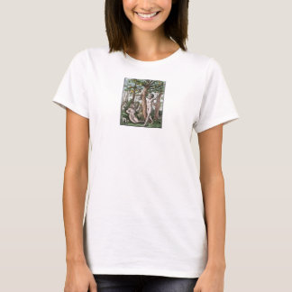 Dance of Death - Temptation and Fall - 1861 Color T-Shirt