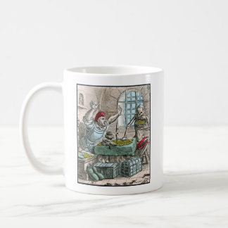Dance of Death - The Miser - 1816 Color Print Coffee Mug