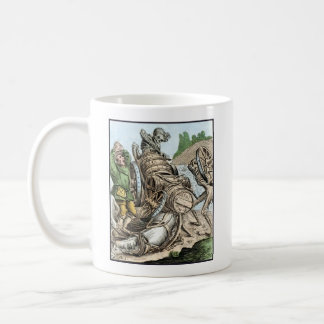 Dance of Death - The Waggoner - 1816 Color Print Coffee Mug